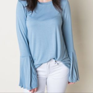 NWT Bell Sleeves Top